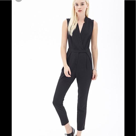 eabc94a0afd Forever 21 Pants - Forever 21 black jumpsuit